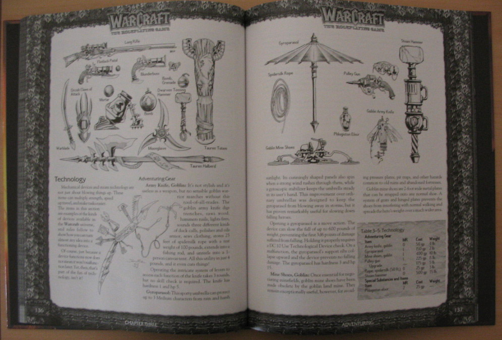 Warcraft The Roleplaying Game.