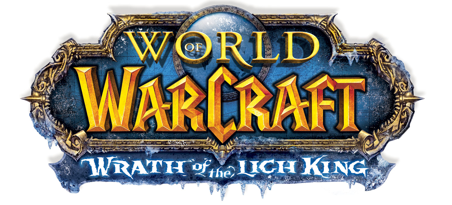 Logo de World of Warcraft: Wrath of the Lich King.