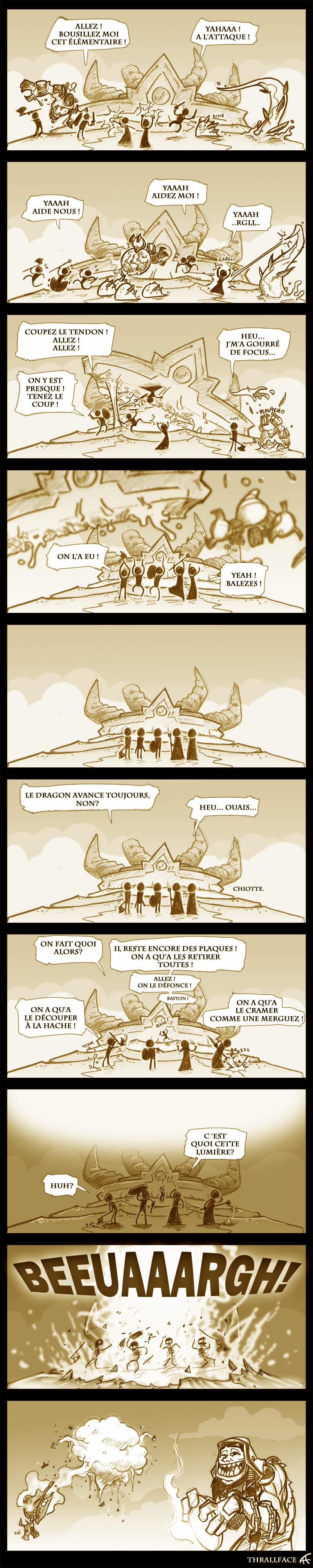 Bande dessinée réalisée par FranHoiss.