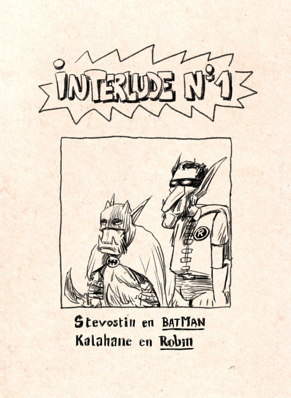 Aventures de Stevostin, tome 1 : La Porte Sombre. Interlude n°1.
