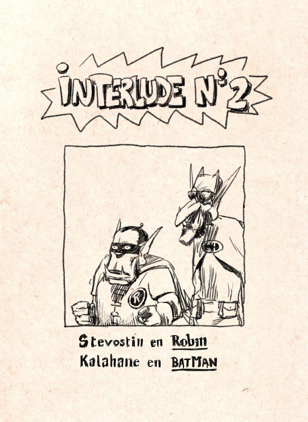 Aventures de Stevostin, tome 1 : La Porte Sombre. Interlude n°2.