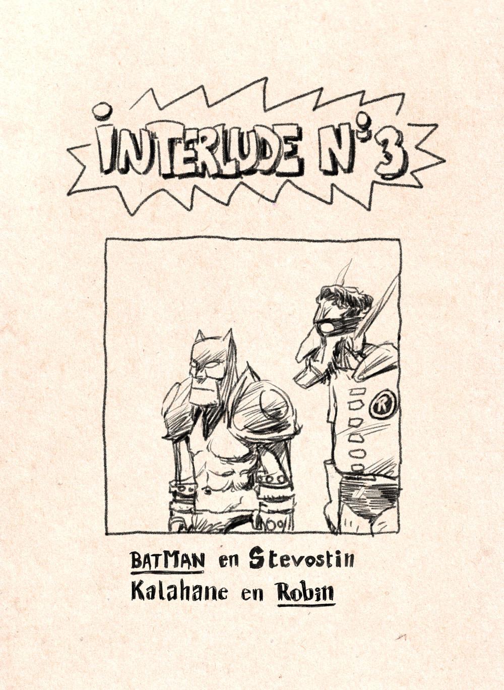 Aventures de Stevostin, tome 1 : La Porte Sombre. Interlude n°3.