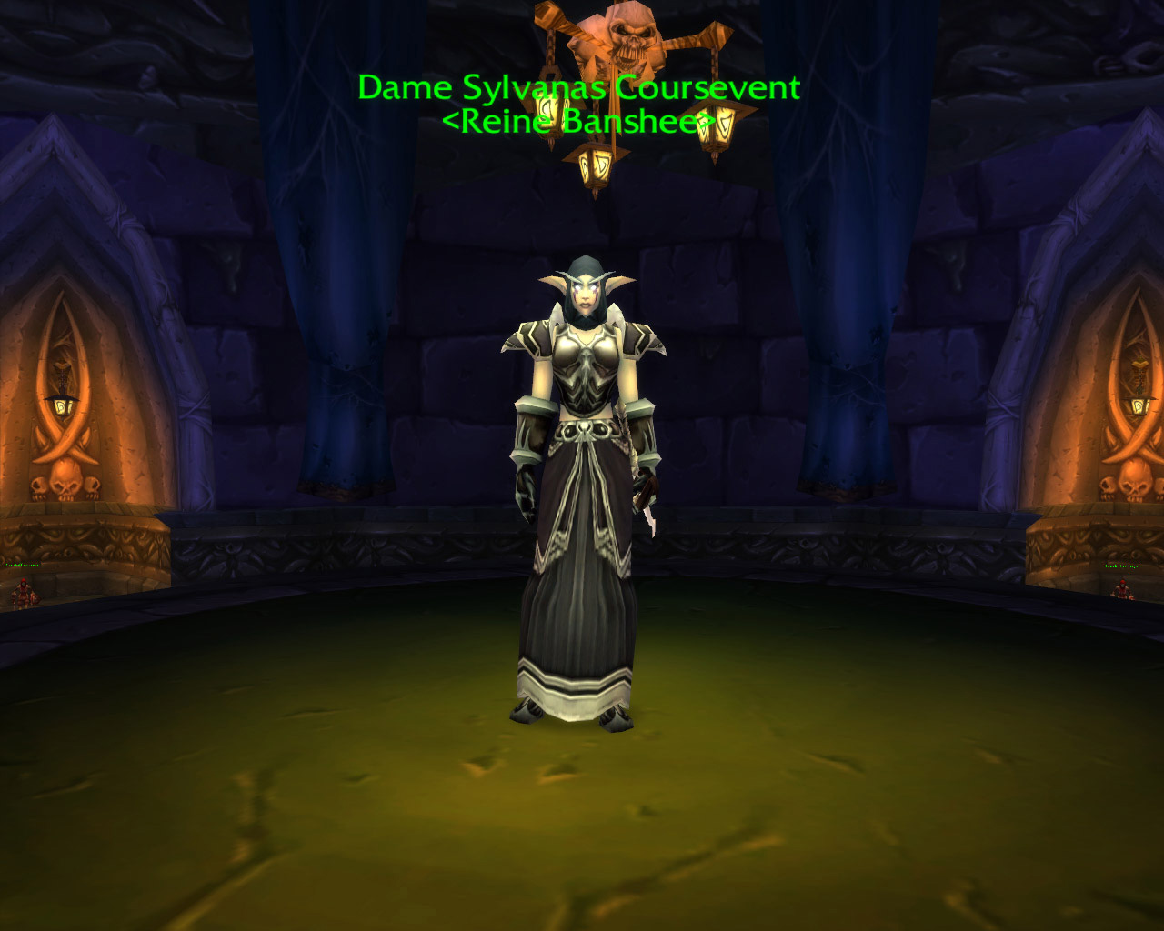 Sylvanas Coursevent dans World of Warcraft.