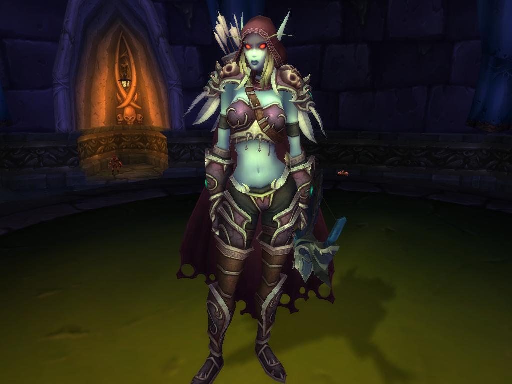 Sylvanas Coursevent dans World of Warcraft: Cataclysm.