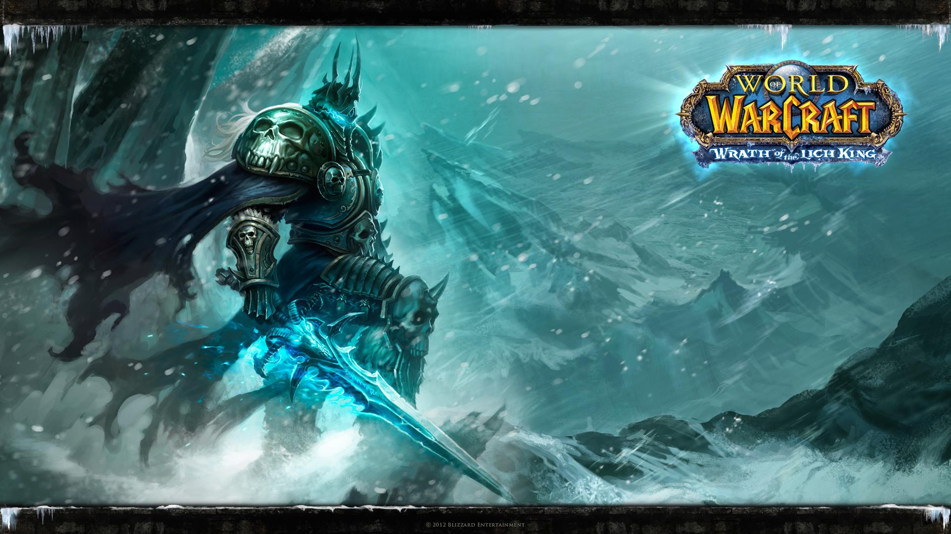 Fond D'écran World Of Warcraft.