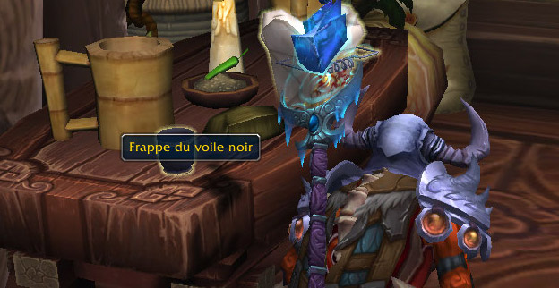 Screenshot du mini-évènement sur World of Warcraft.