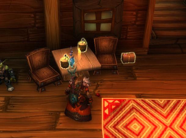 Screenshot du mini-évènement sur World of Warcraft.