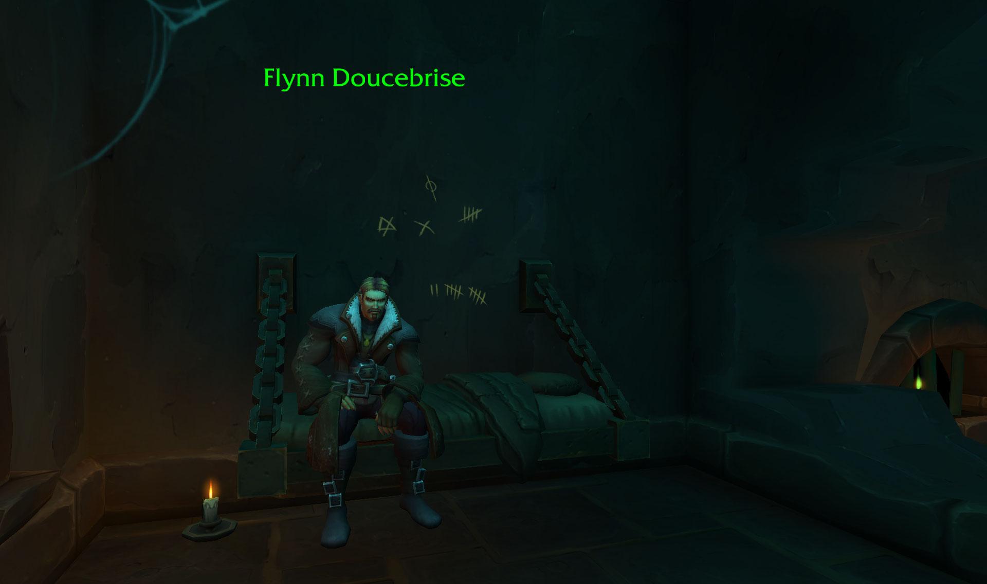 Screenshot du scénario d'introduction de l'Alliance dans World of Warcraft: Battle for Azeroth.