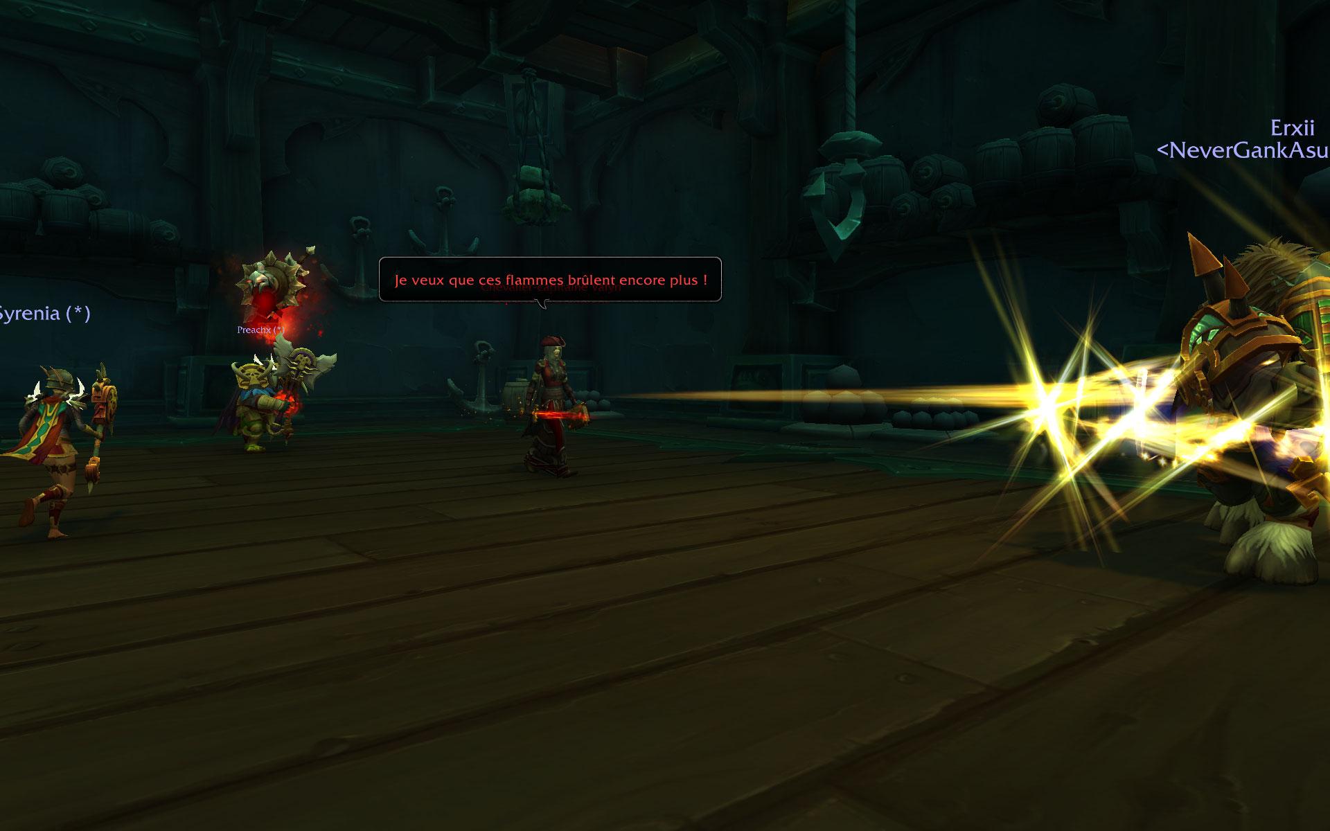 Screenshot du donjon Tol Gador sur World of Warcraft: Battle for Azeroth.