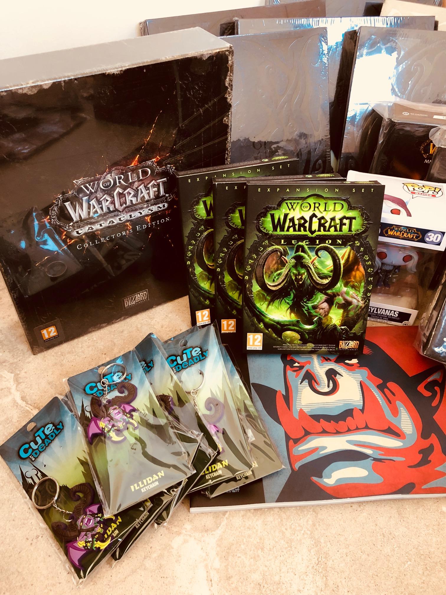 Plein de cadeaux World of Warcraft à gagner sur JudgeHype !