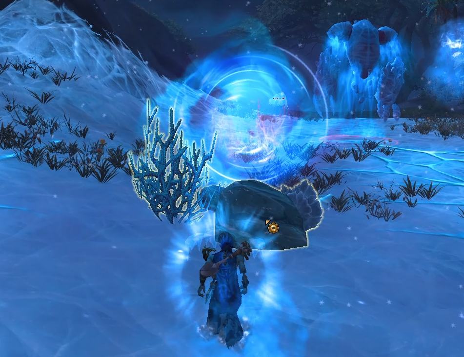 Screenshot de l'expédition Ruines d'Un'gol sur World of Warcraft: Battle for Azeroth.