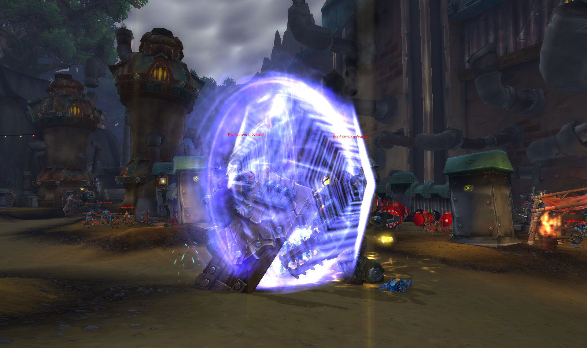 Screenshot du donjon Terremine dans World of Warcraft: Battle for Azeroth.