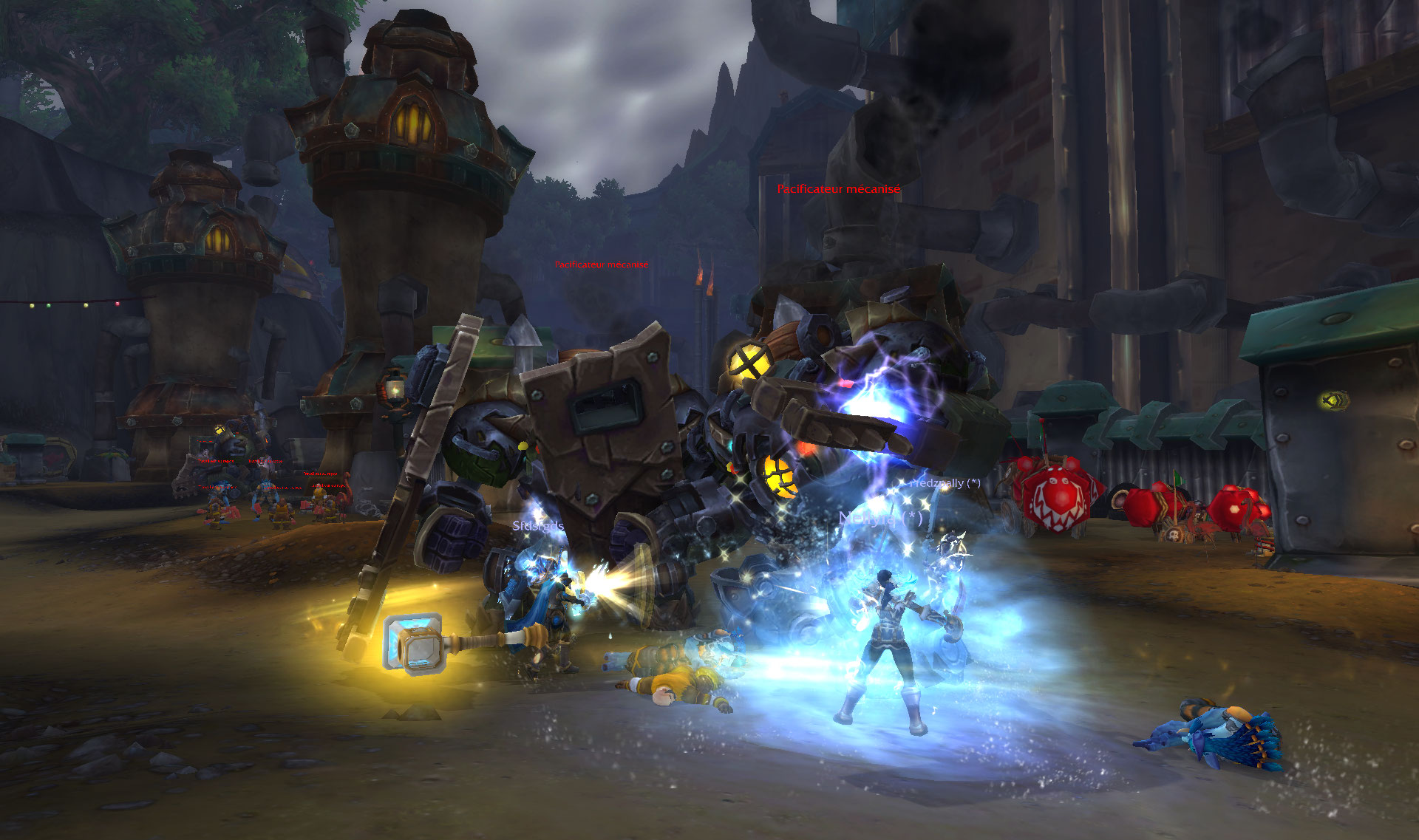 Screenshot du donjon Terremine dans World of Warcraft: Battle for Azeroth.