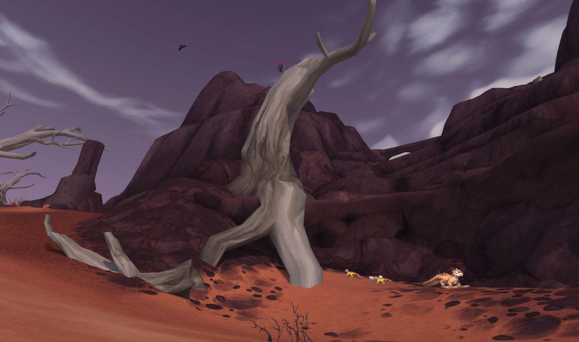 Screenshot de Vol'dun dans World of Warcraft: Battle for Azeroth.