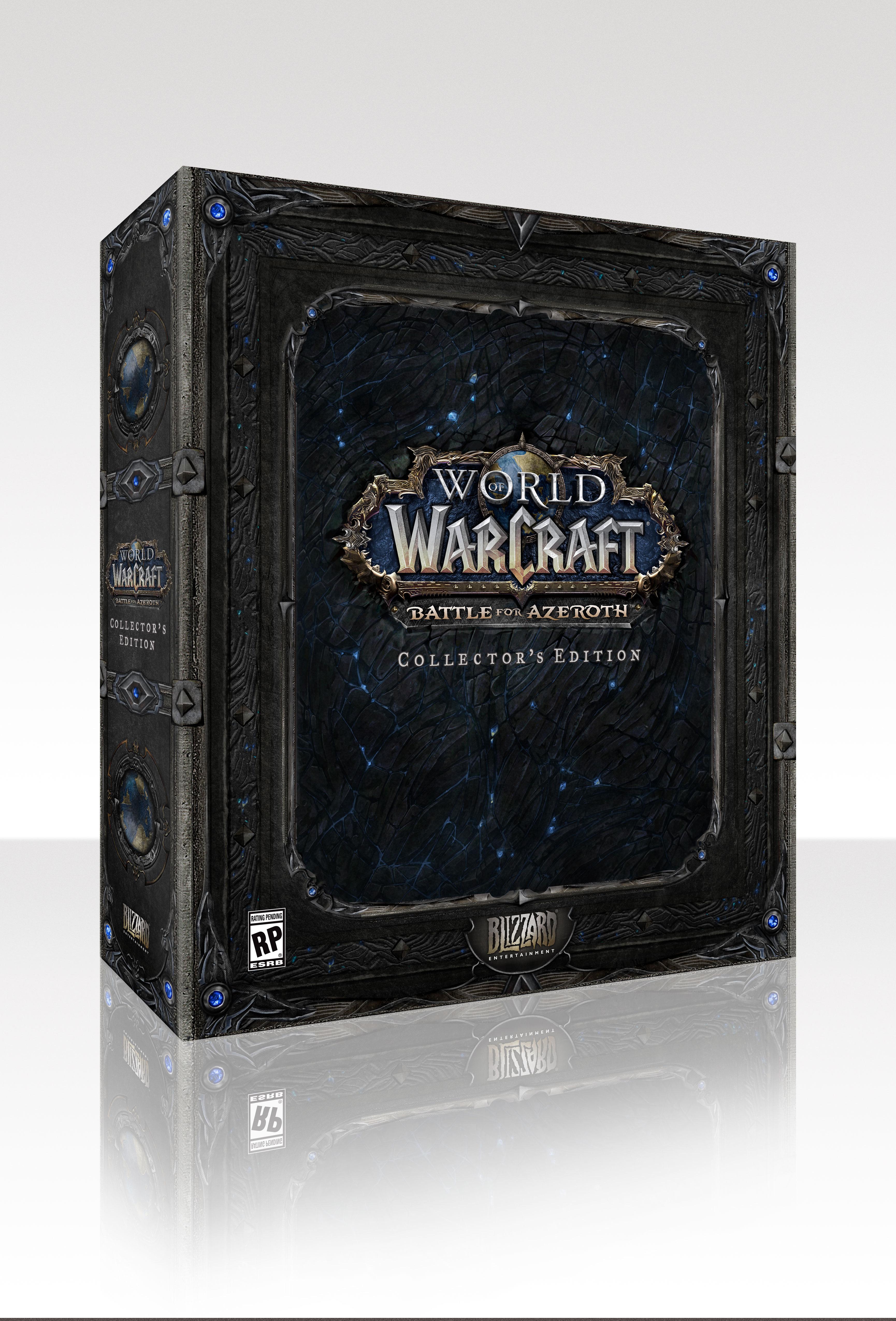 Photo de l'édition Collector de World of Warcraft: Battle for Azeroth.