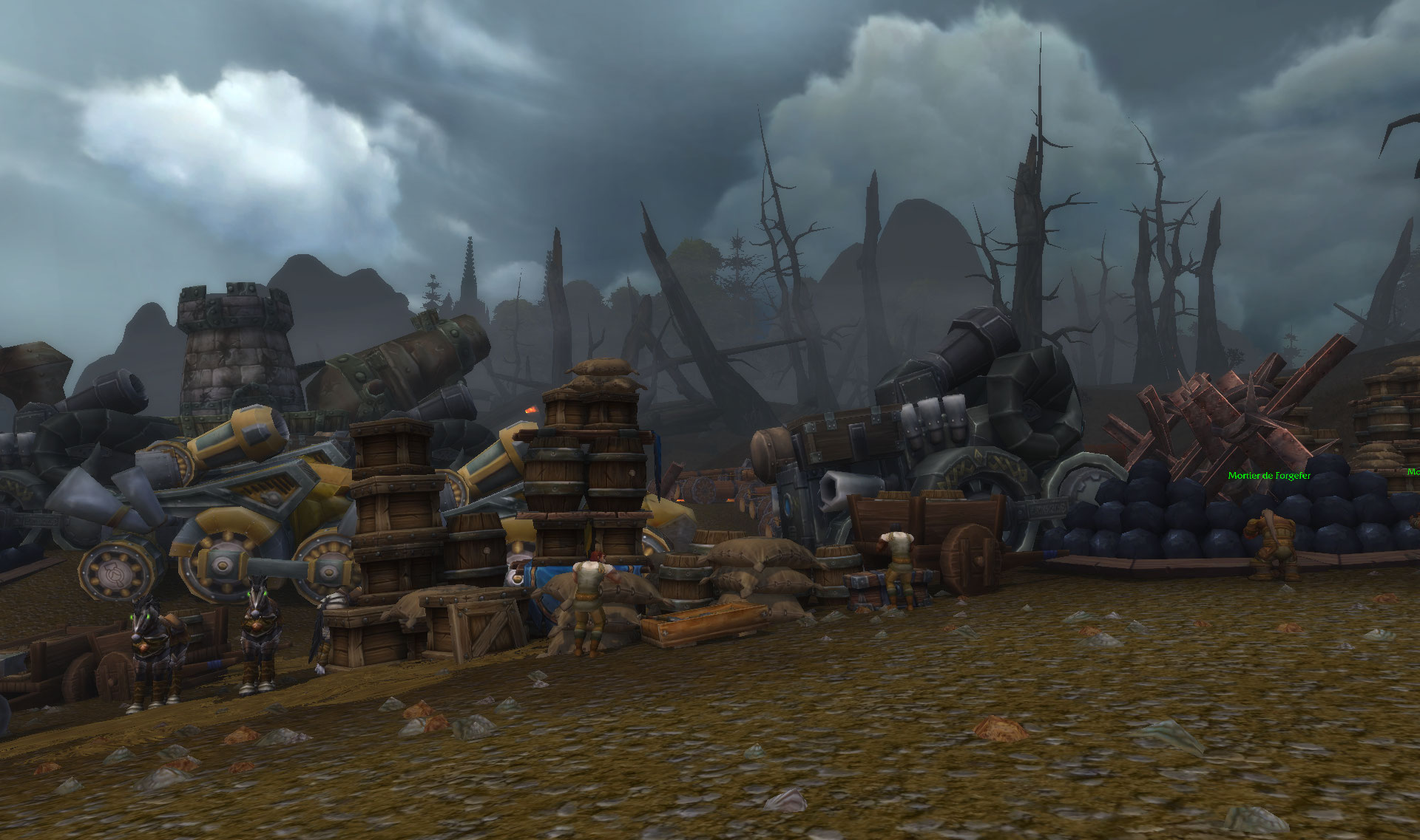 Bataille de Lordaeron sur World of Warcraft: Battle for Azeroth.