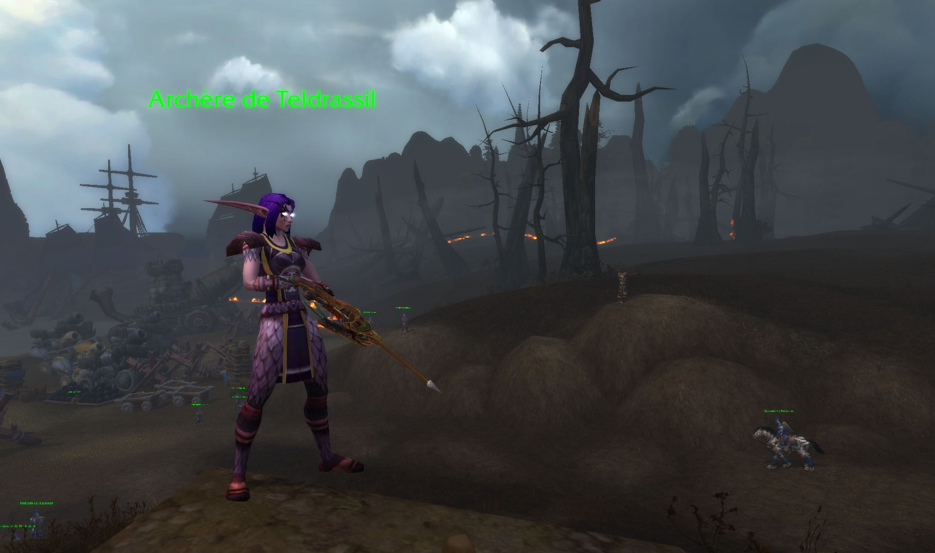 Bataille de Lordaeron sur World of Warcraft: Battle for Azeroth.