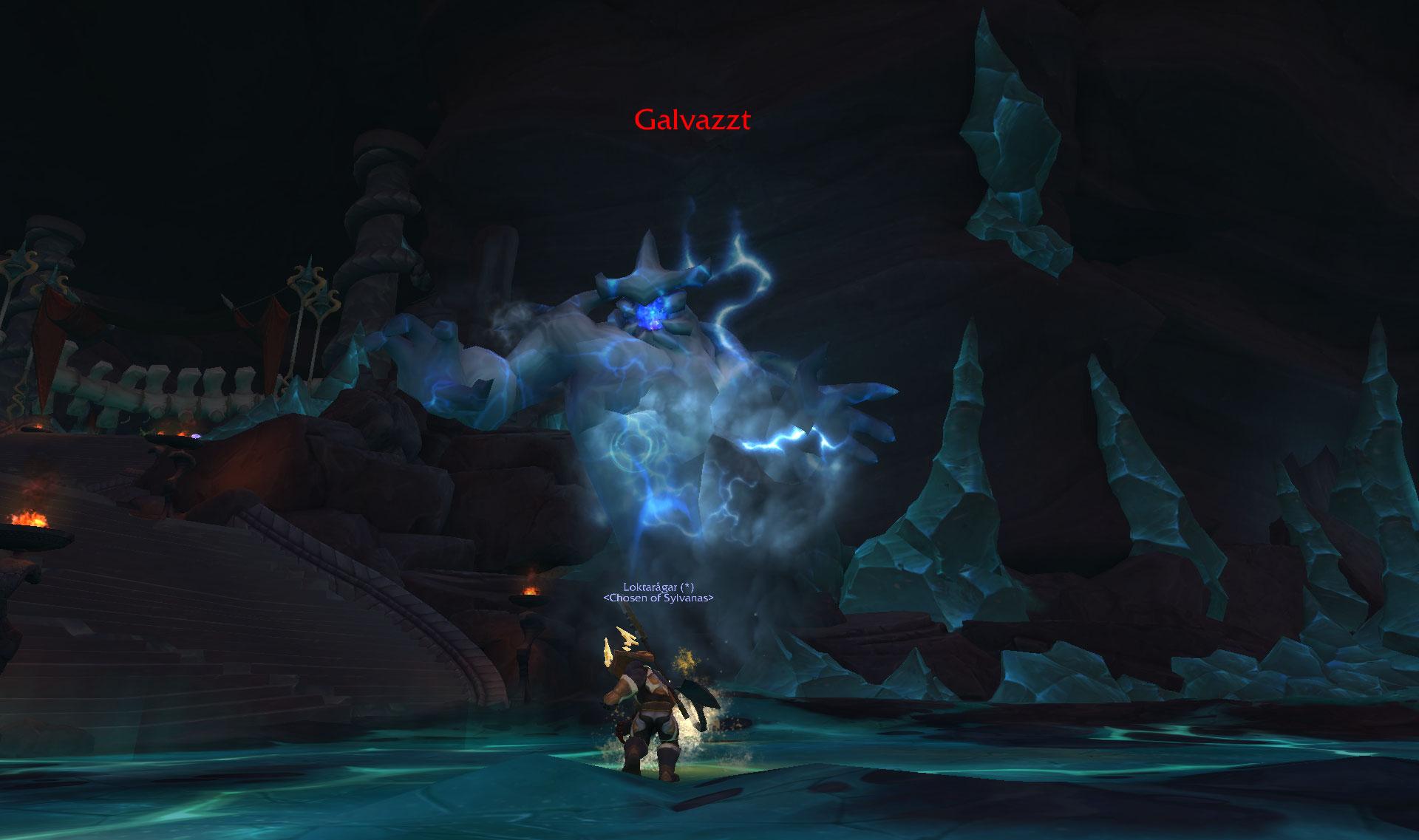 Screenshot du donjon Temple de Sephraliss dans World of Warcraft: Battle for Azeroth.