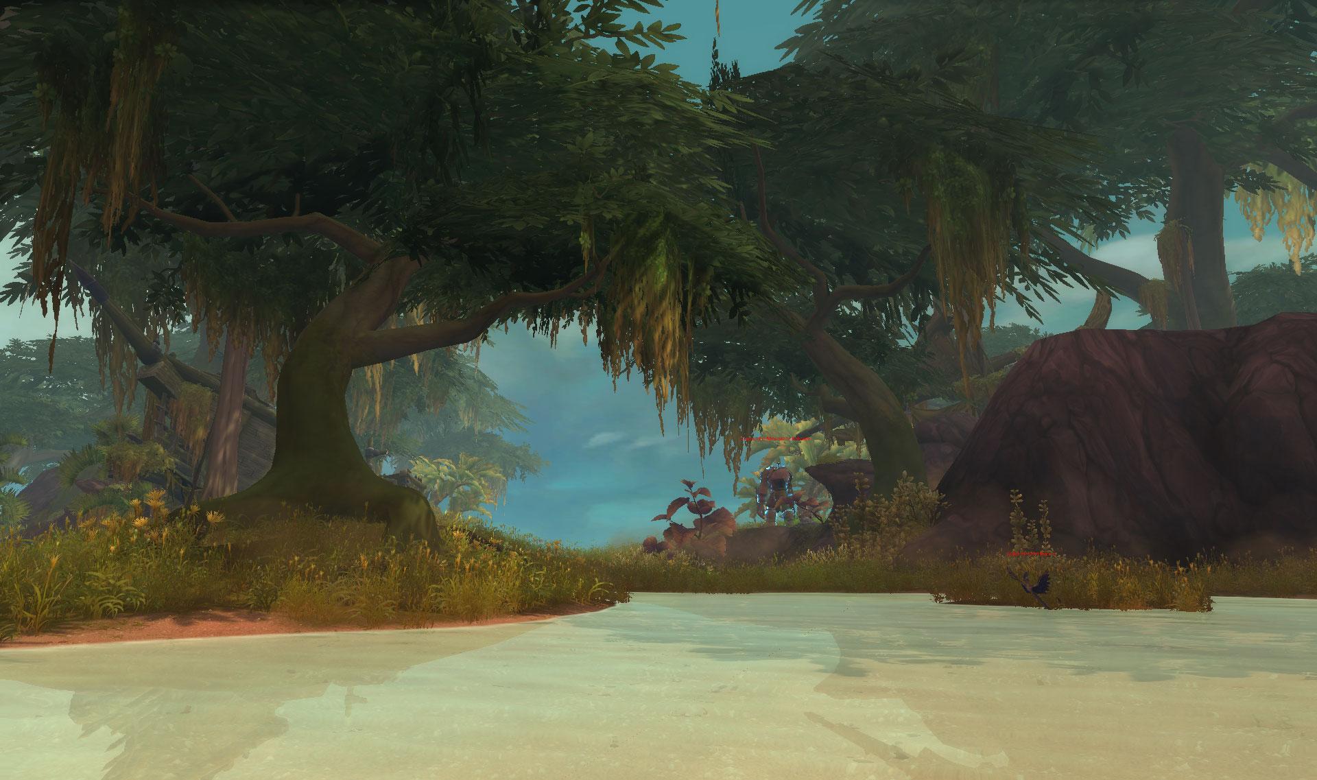 Screenshot de l'expédition sur les îles The Rotting Mire.