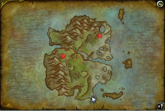 Screenshot de l'expédition dans les îles Whispering Reef dans WoW: Battle for Azeroth.