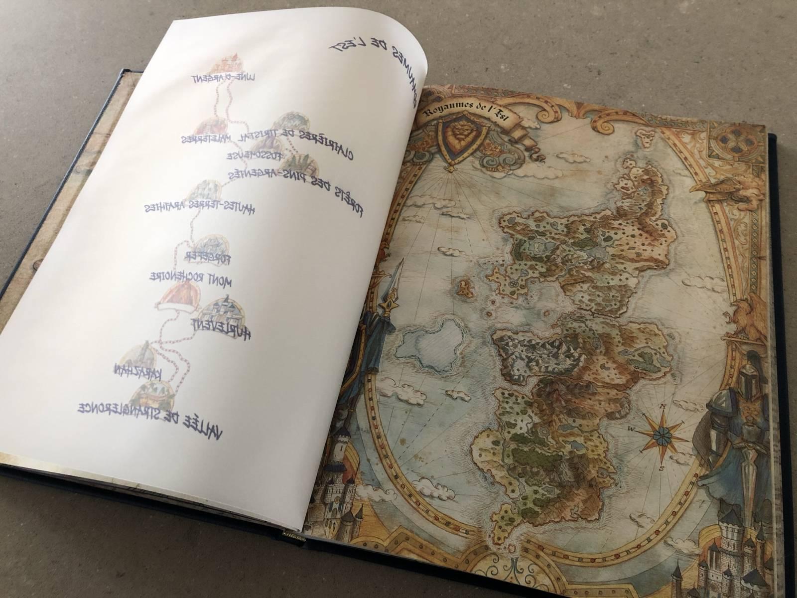 Photo du livre À la découverte d'Azeroth : Les Royaumes de l'est.