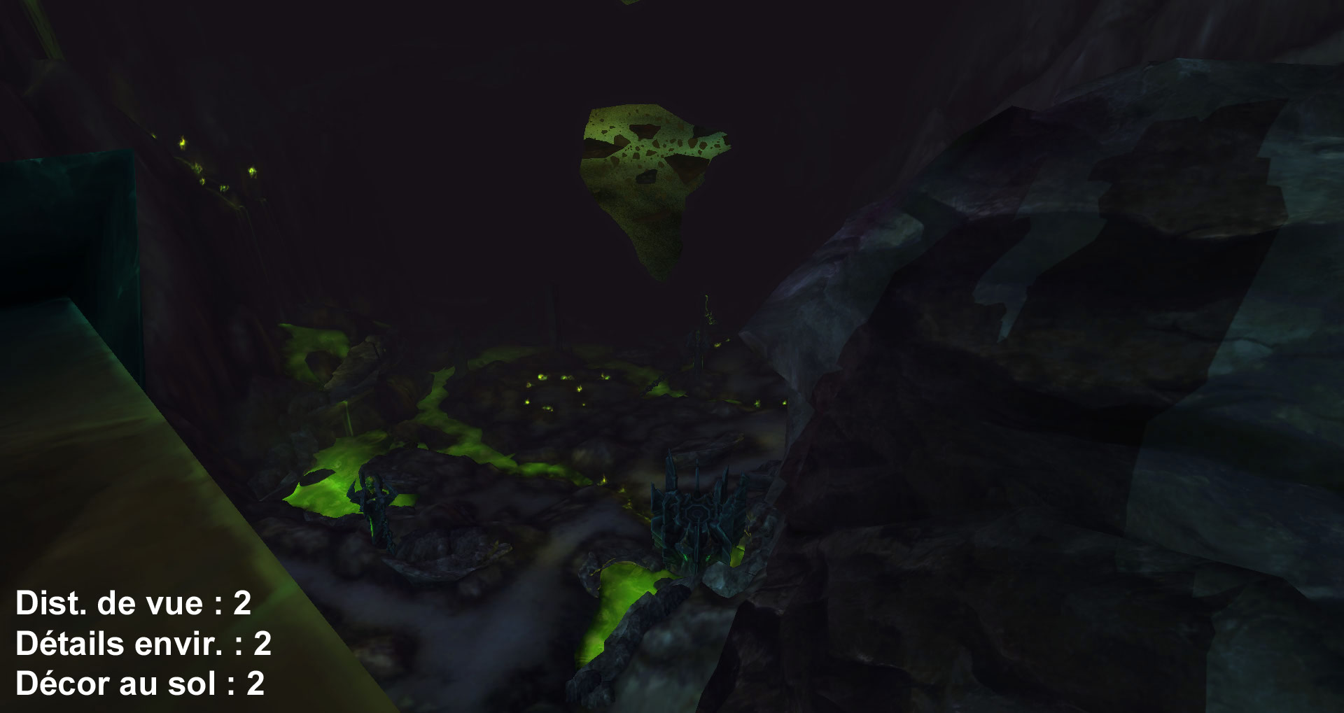 Screenshot de World of Warcraft: Legion. Zone de Mardum.
