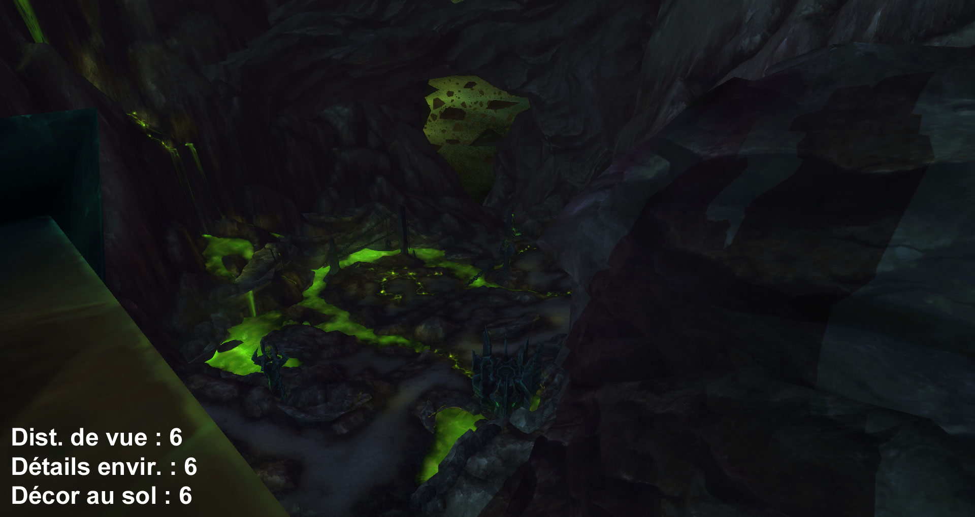 Screenshot de World of Warcraft: Legion. Zone de Mardum.