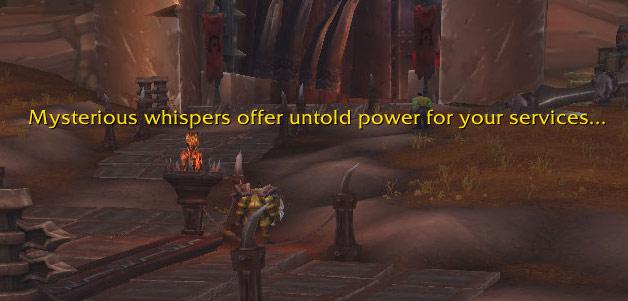 Screenshot de l'événement pré-Legion sur World of Warcraft. Patch 7.0