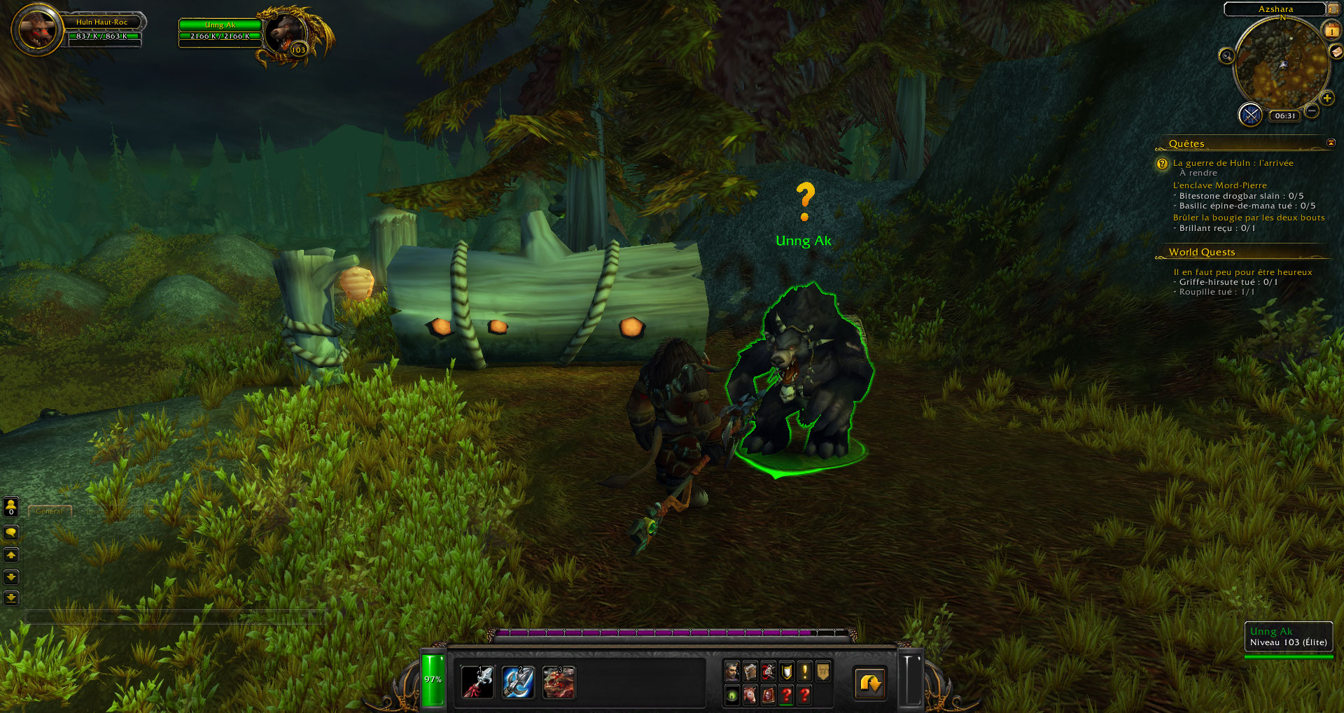 Screenshot de World of Warcraft: Legion.