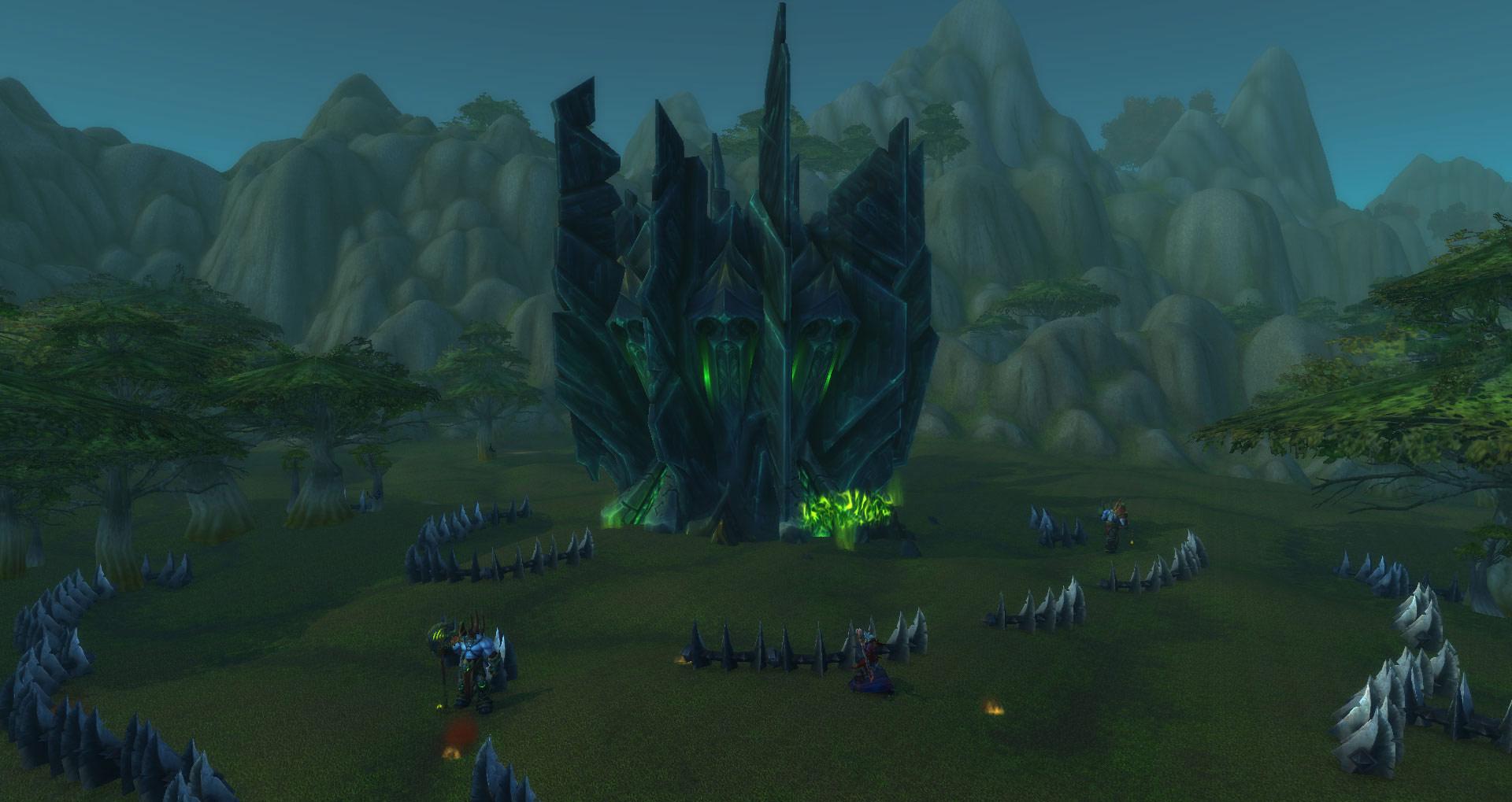 Événément Legion : Invasion de la Légion Ardente en Azeroth.