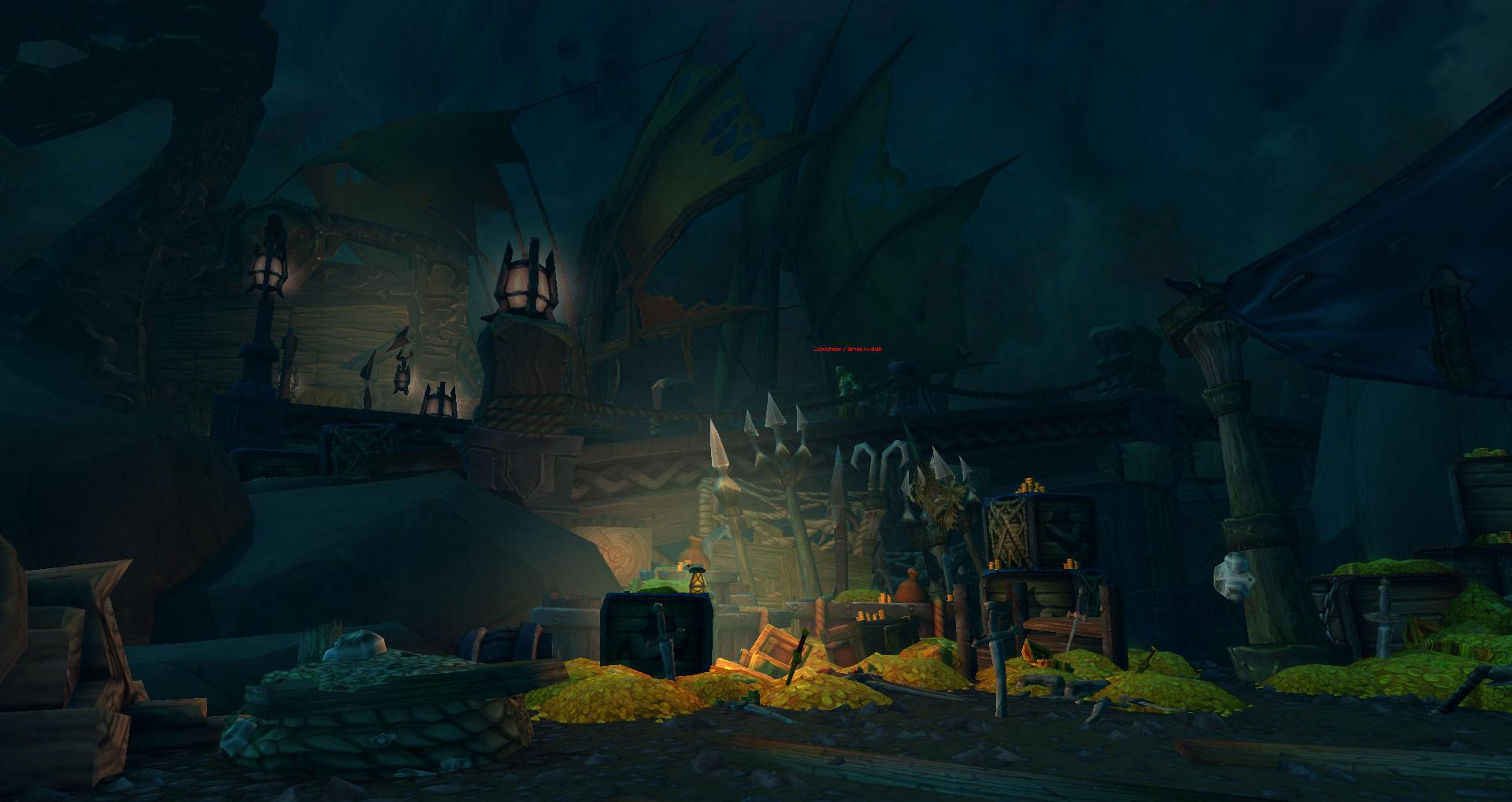Screenshot de World of Warcraft: Legion. Zone de Helheim (Tornheim).