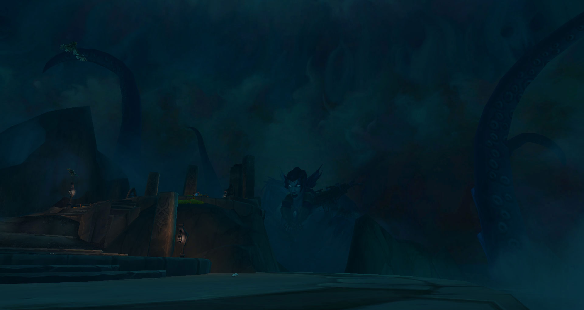 Screenshot de World of Warcraft: Legion. Zone de Helheim (Tornheim).