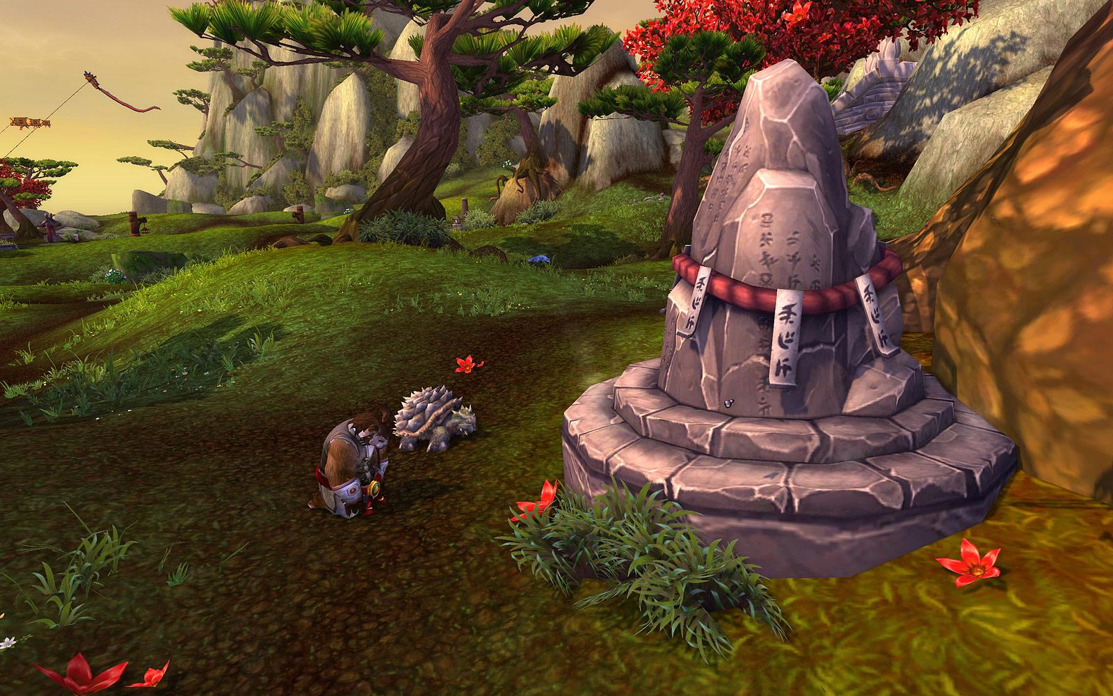 Screenshot de World of Warcraft: Mists of Pandaria.