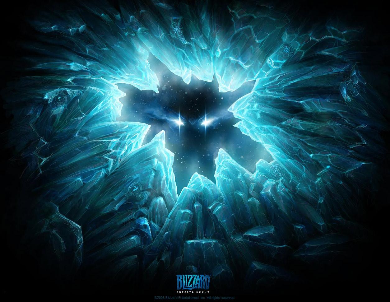 Page d'accueil du site de Blizzard le 27 juin 2008.