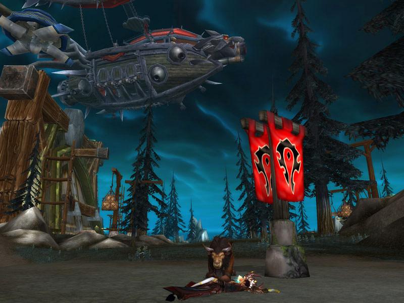 Screenshot de l'île des conquérants, le nouveau champ de bataille du patch 3.2.