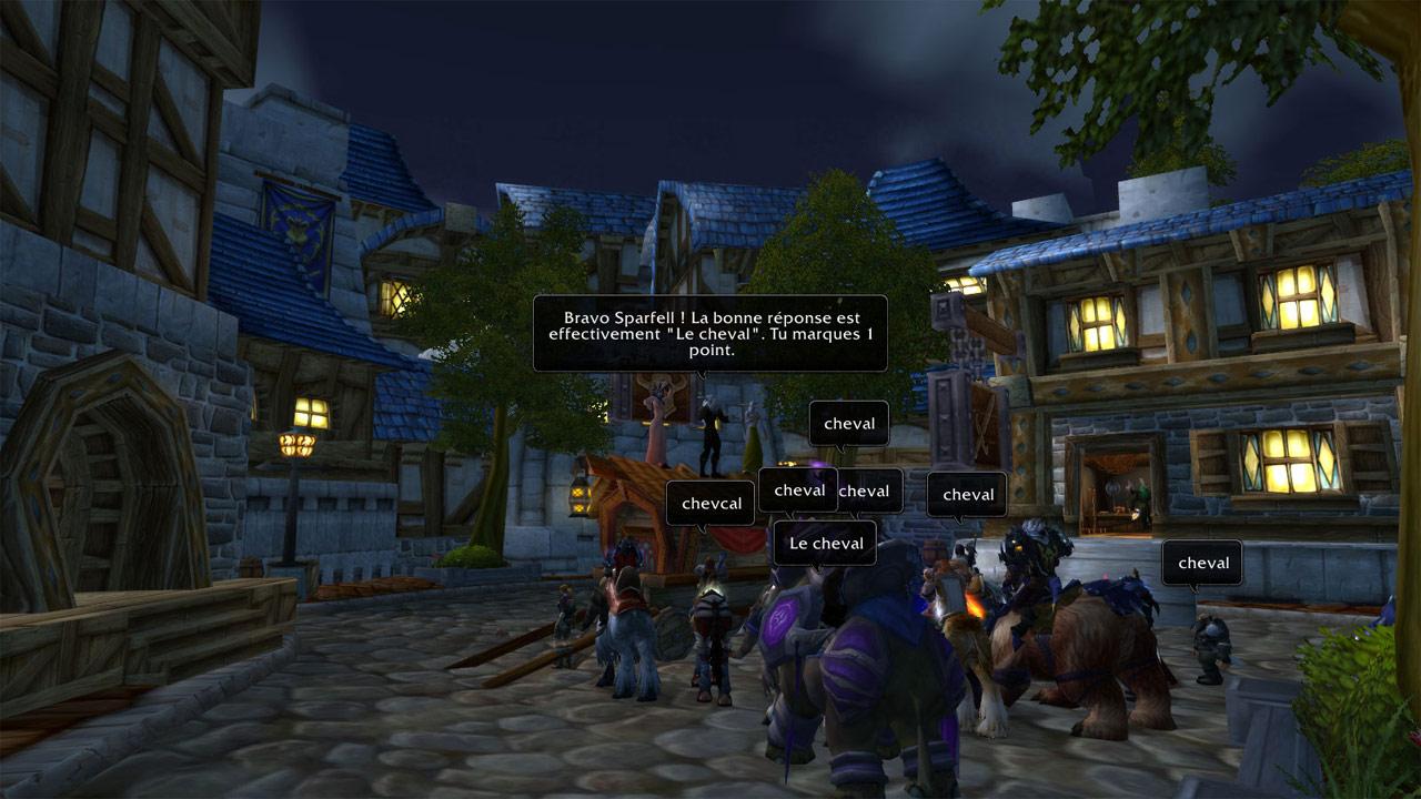 Event Quizz et Surprises sur Sargeras. Image de Lenwë.