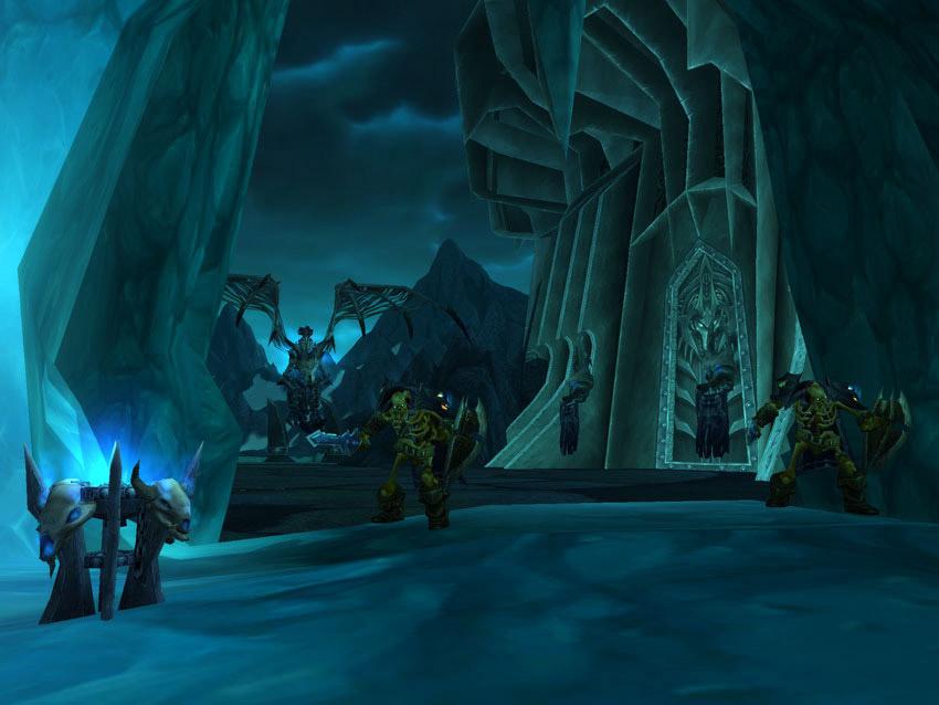 La citadelle de la Couronne de glace : les salles Gelées