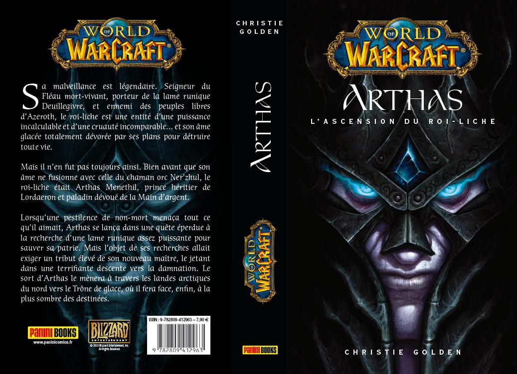 Roman Arthas: l'ascension du roi liche, édité par Panin Books.