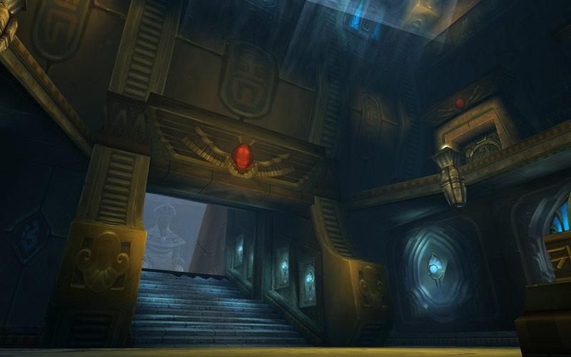 World of Warcraft: Cataclysm. Les Salles de l'Origine.