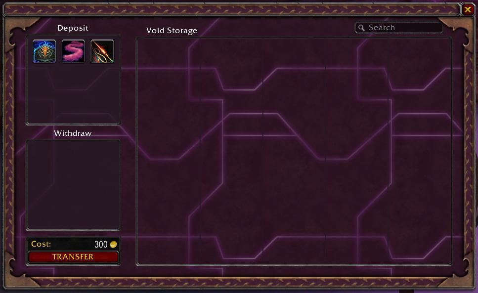 Présentation de la chambre du vide du patch 4.3.
