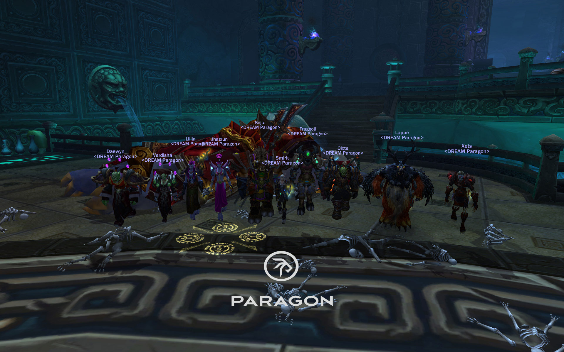 World First en raid 10 héroïque pour Dream Paragon face à Volonté de l'empereur.