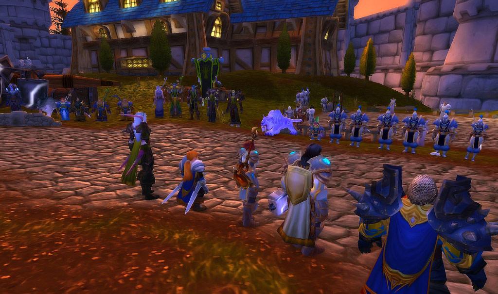 Les Tarides s'embrasent, rassemblement RP sur Kirin Tor.