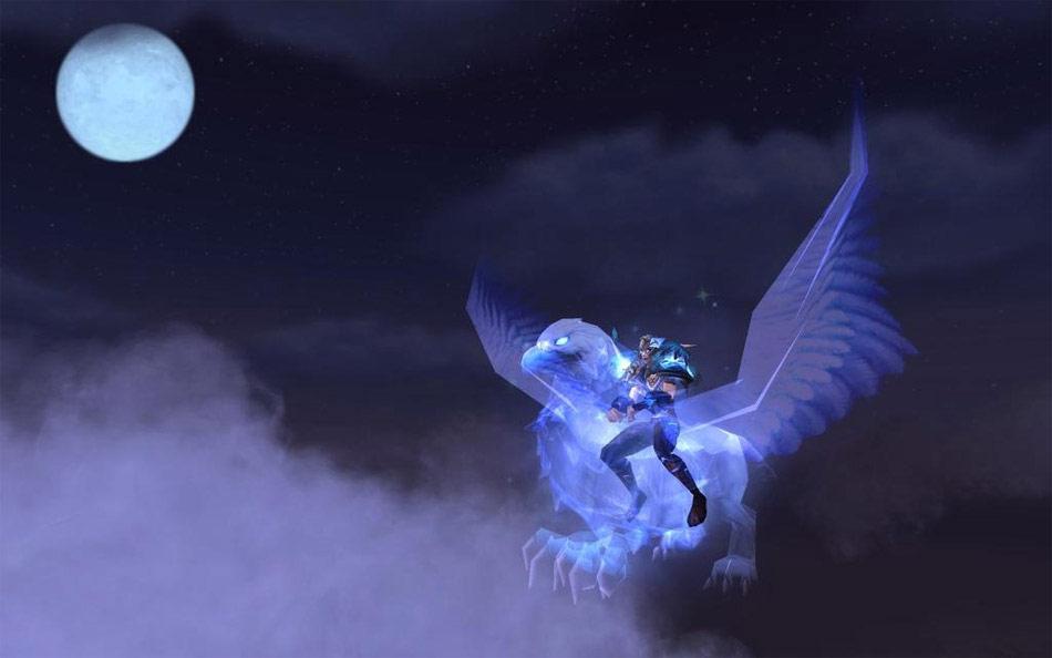 Le Griffon Spectral, offert dans le cadre du programme Sort de résurrection.