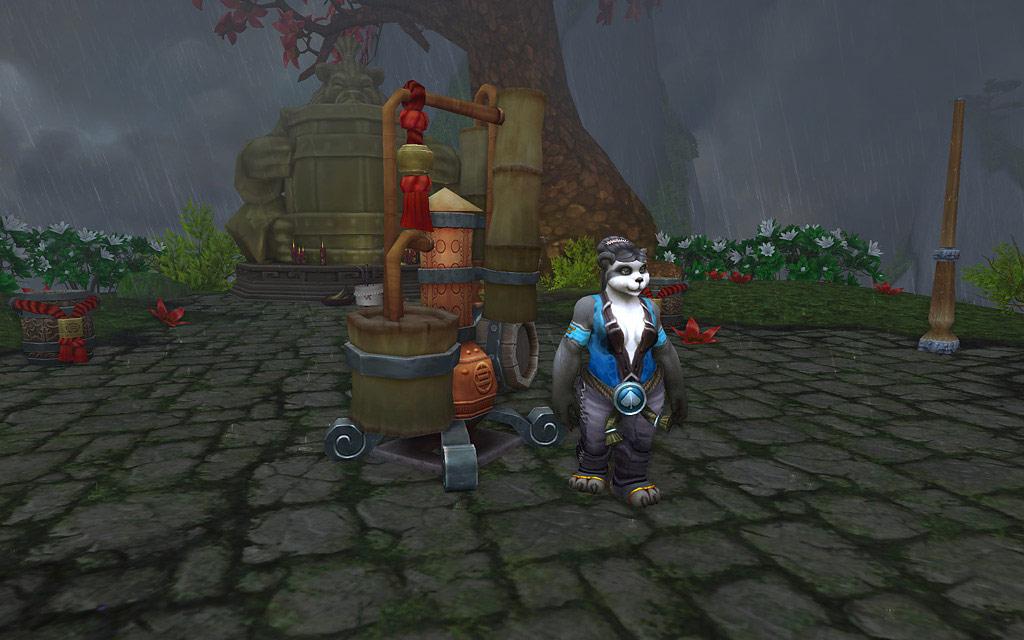 Scénario Mists of Pandaria: Une bière foudroyante.