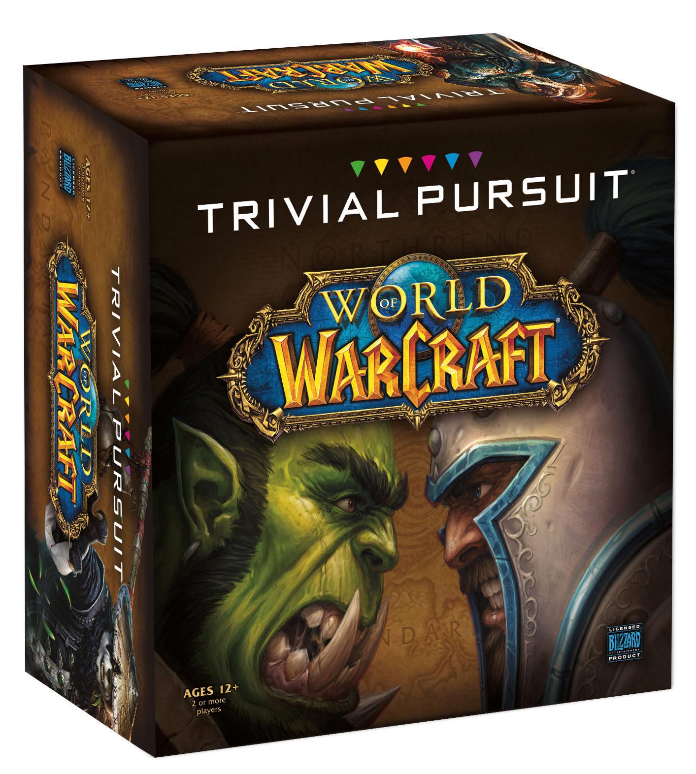 Visuel du Trivial Pursuit World of Warcraft.