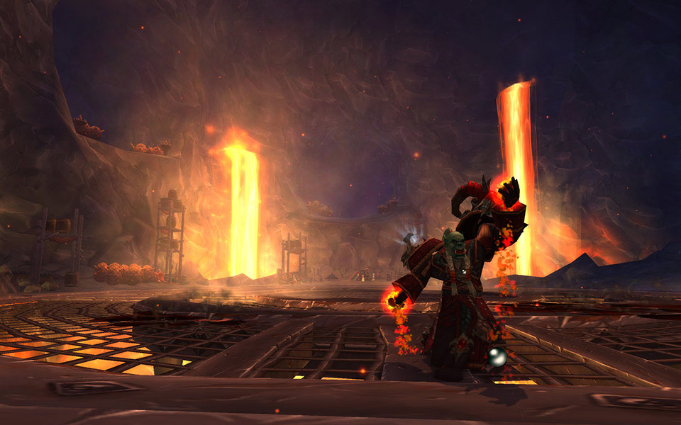 Screenshot du patch 5.3 de World of Warcraft: Les secrets de Ragefeu.