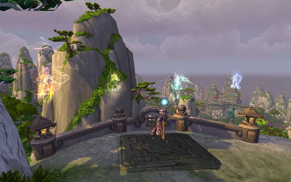 Screenshot du patch 5.3 de World of Warcraft: Irion.