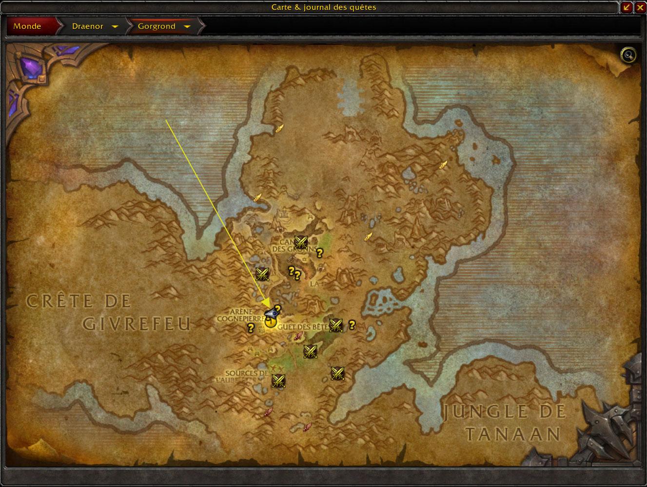 Screenshot de World of Warcraft: Warlords of Draenor.