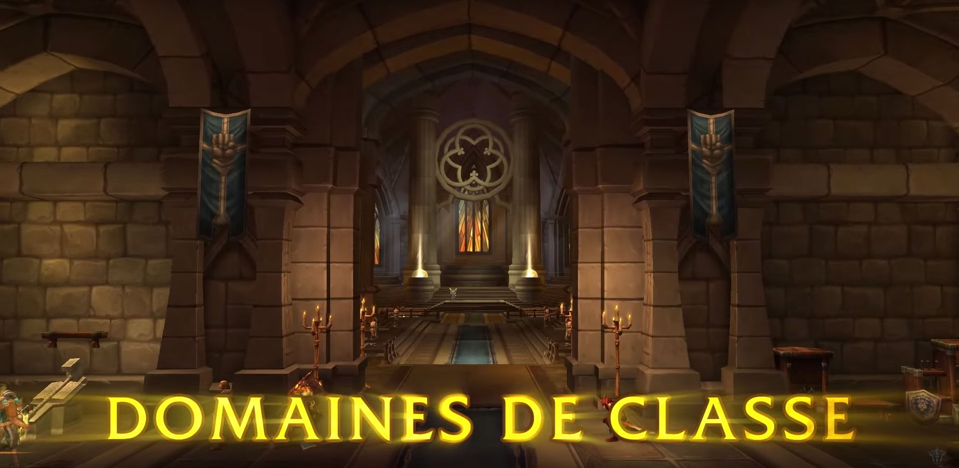 Les domaines de classes dans World of Warcraft: Legion.