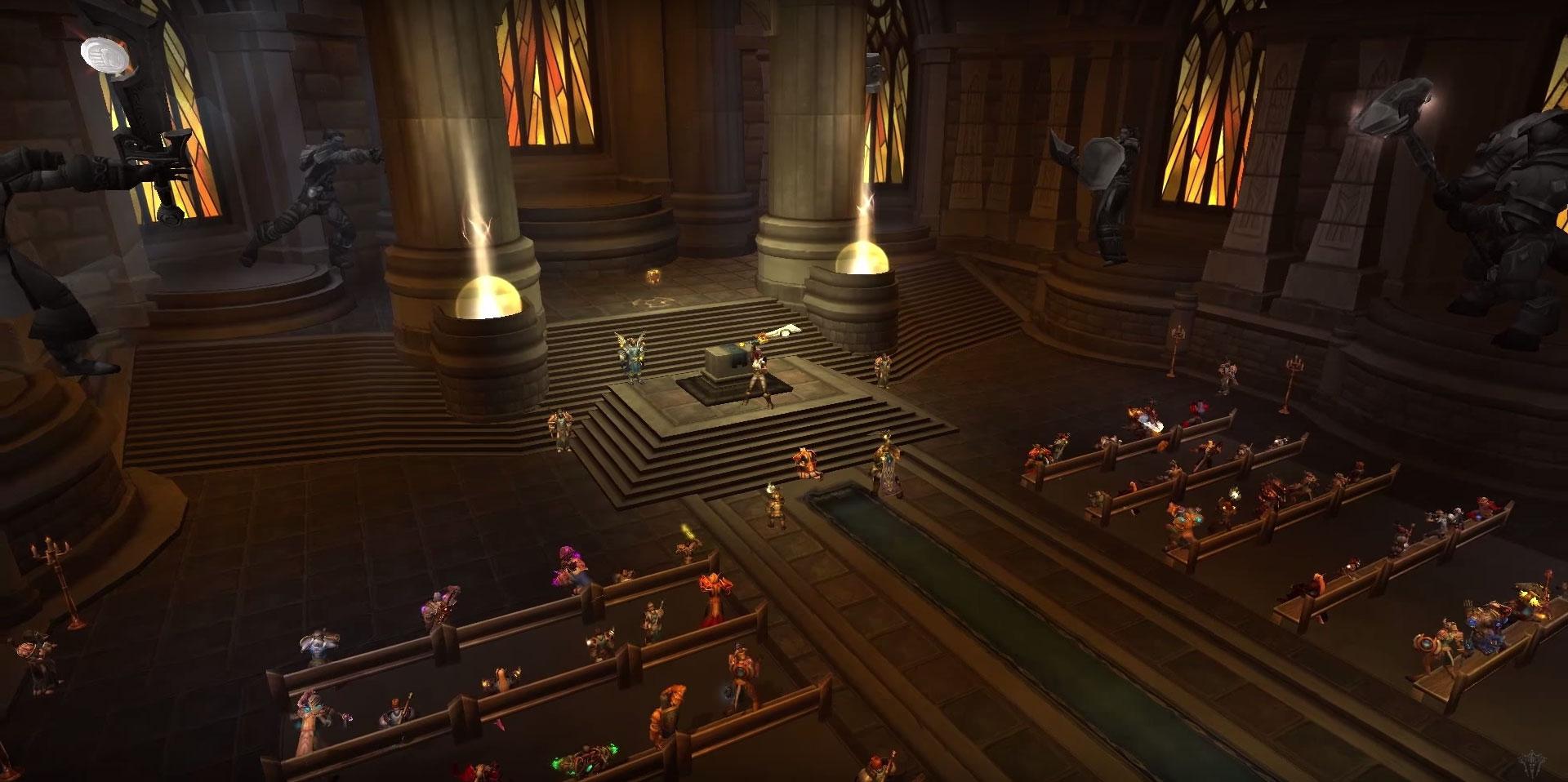 Les domaines de classes dans World of Warcraft: Legion.